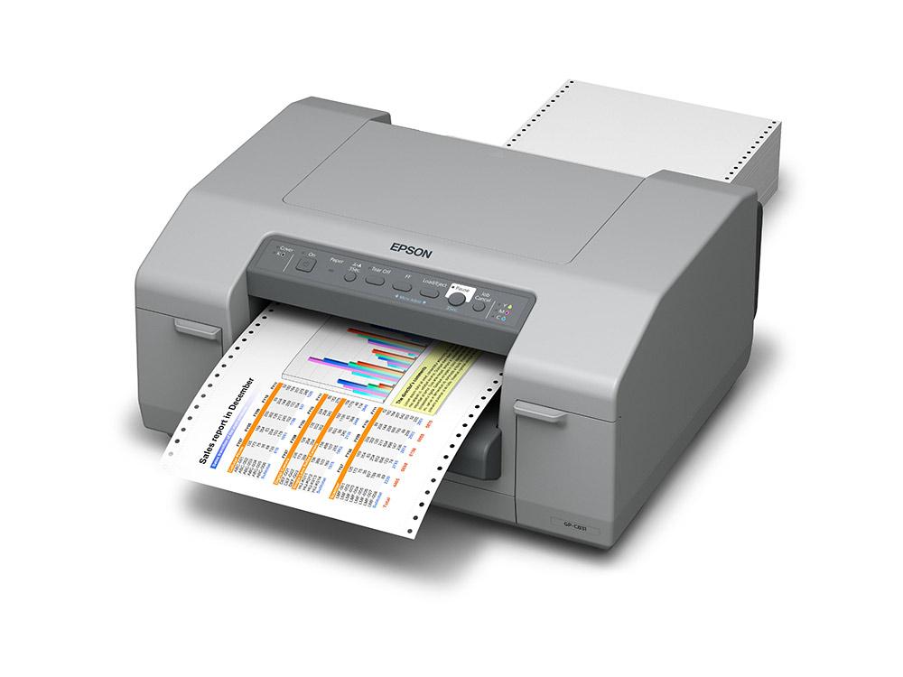Epson ColorWorks C831 GHS-Etikettendrucker