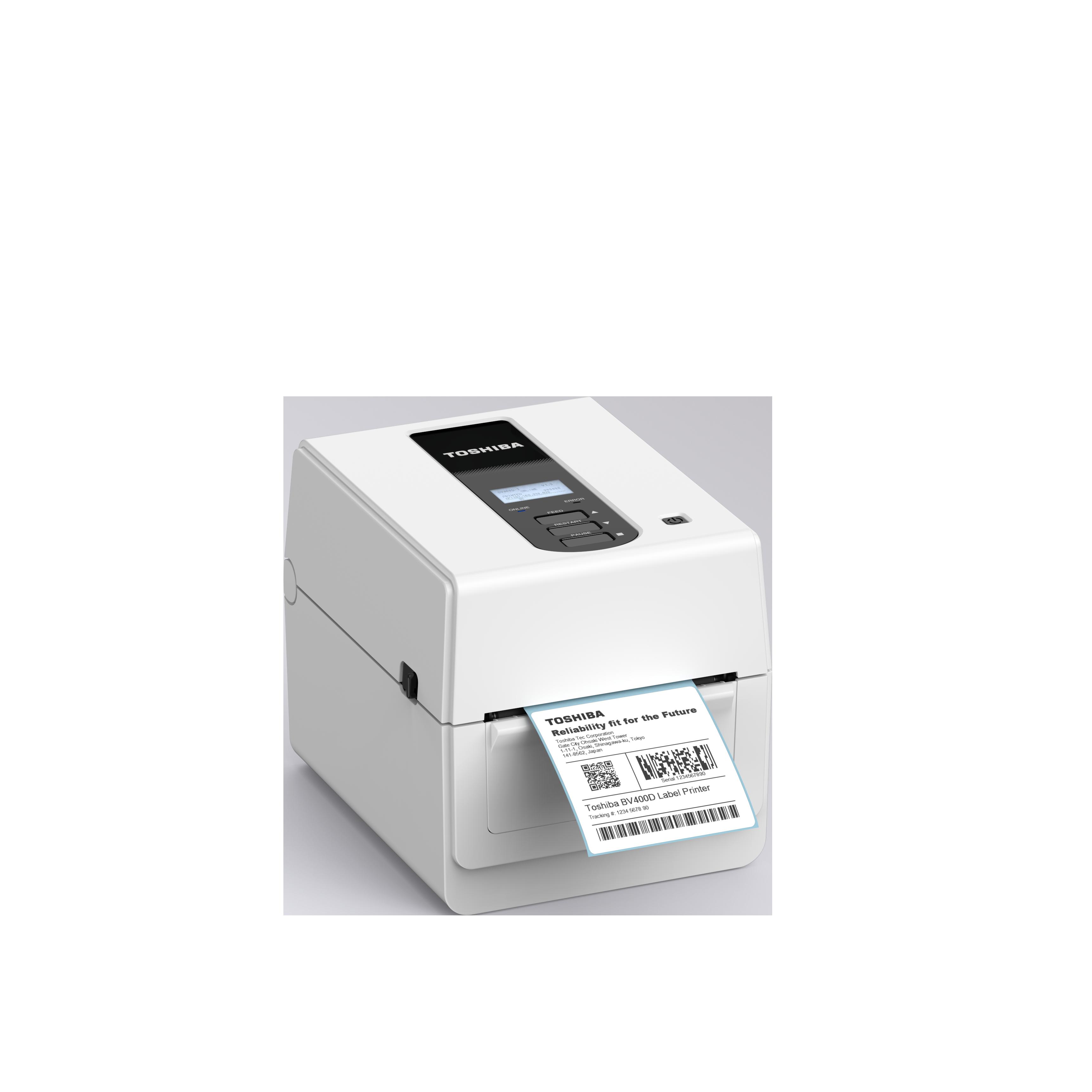 Toshiba BV410D  Etikettendrucker Desktop