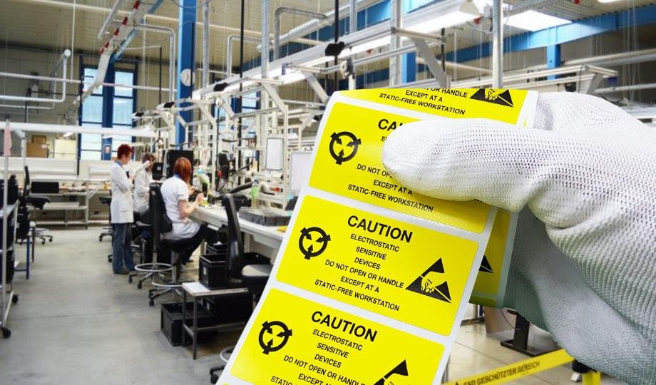 Spezialetiketten - mit unseren Etikettenspendern kein Problem