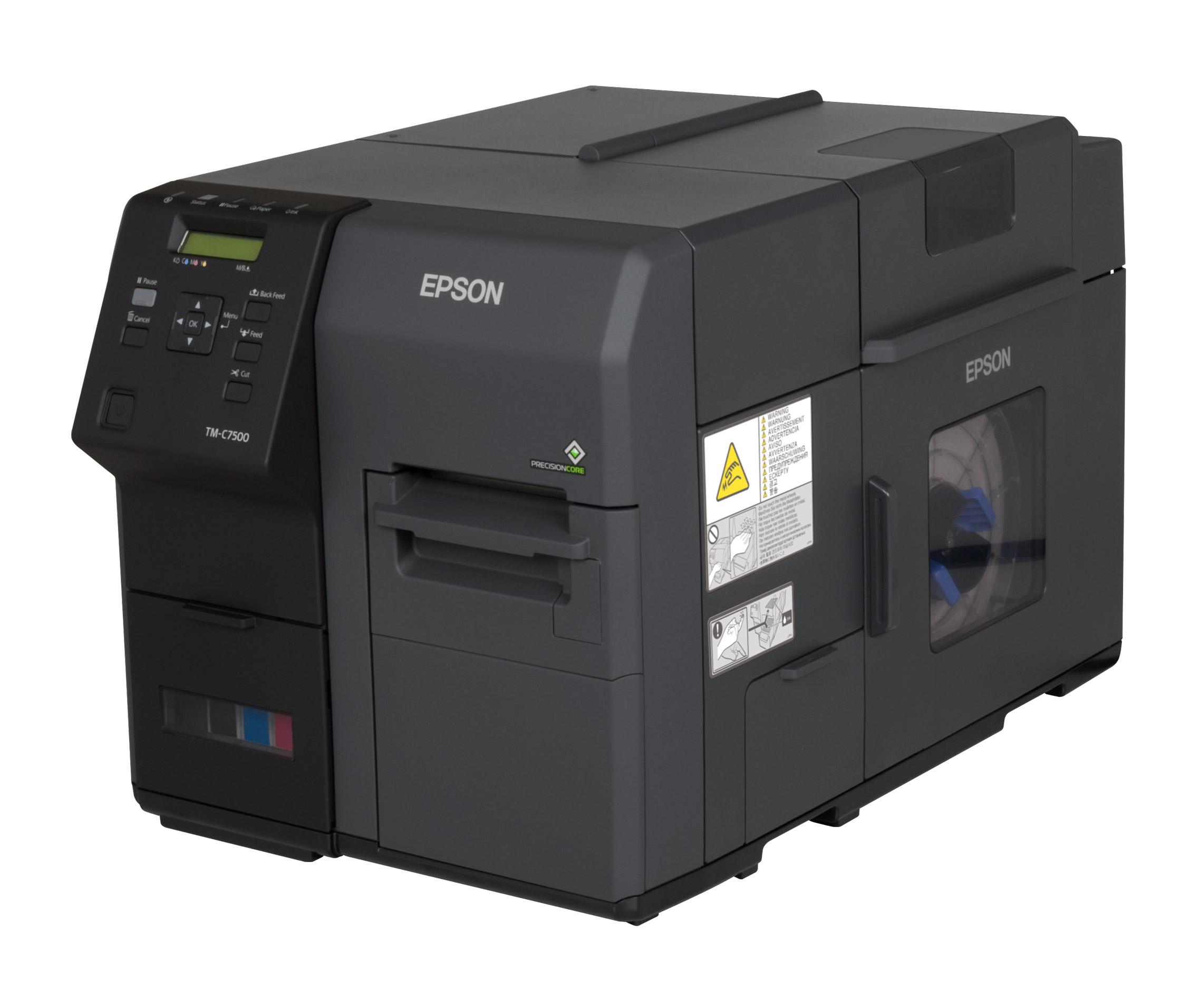 Epson ColorWorks C7500 industrieller Farbetikettendrucker