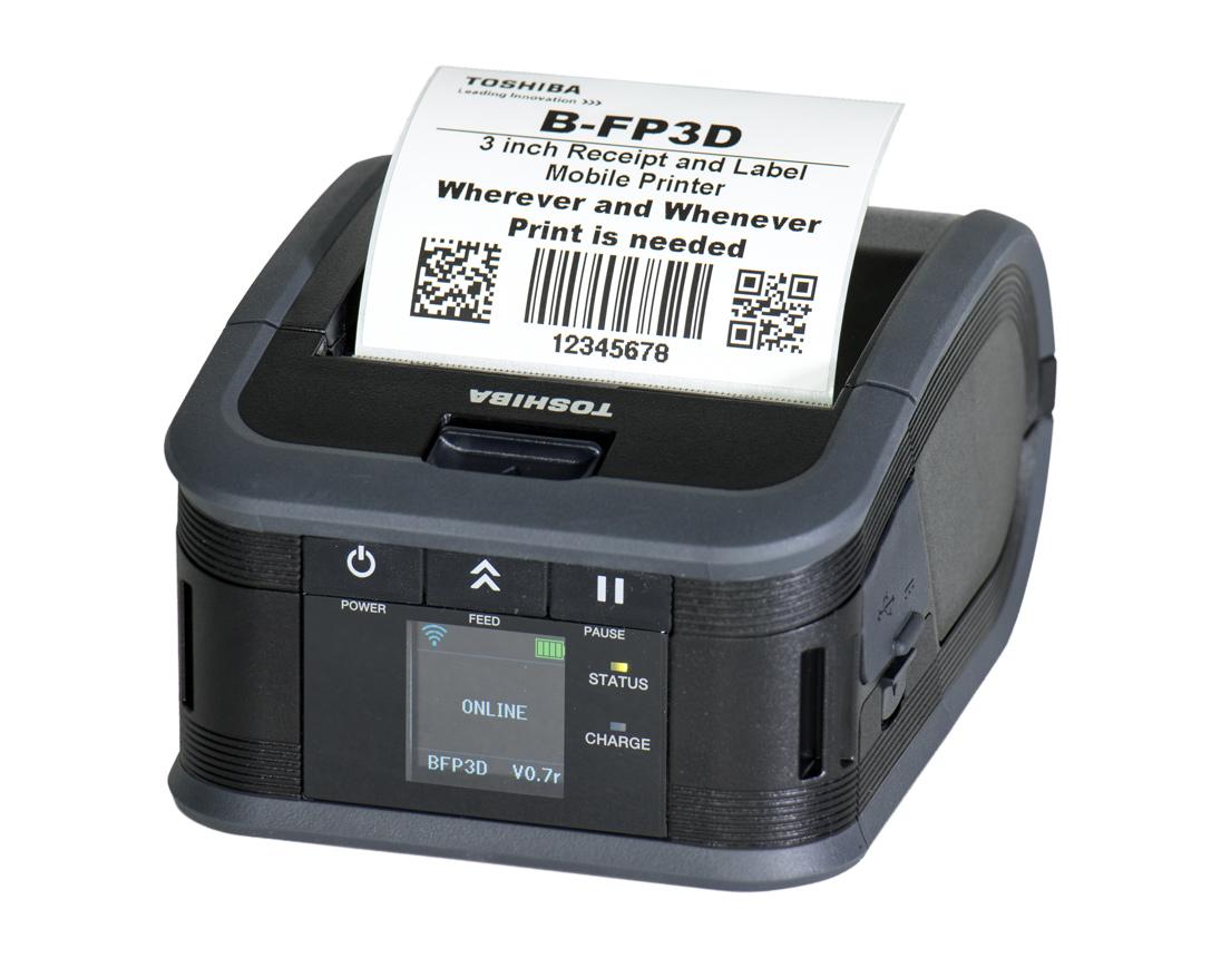 Toshiba B-FP3D Etikettendrucker Mobil