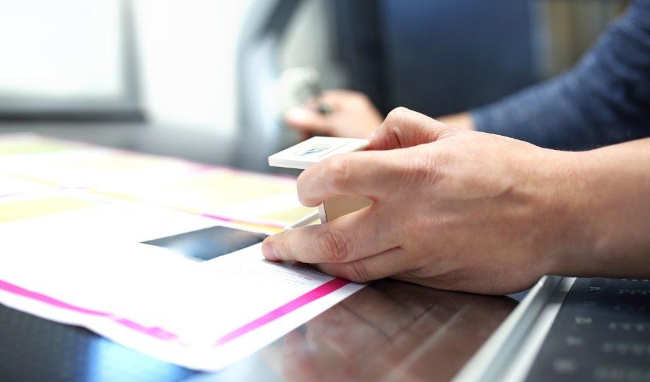 Unser besonderer Service für Ihre Etikettenproduktion im Digital- oder Thermotransferdruckverfahren.