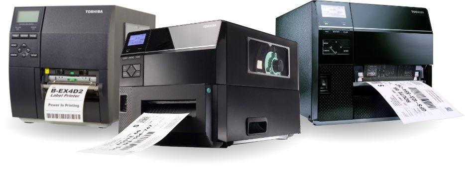 Die Etikettendrucker von Toshiba