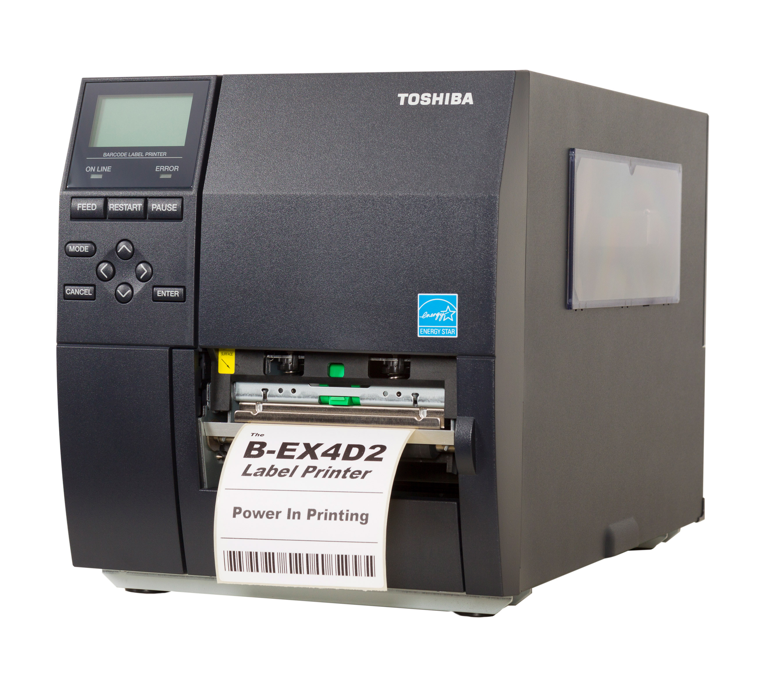 Toshiba B-EX4D2 Etikettendrucker Industrie