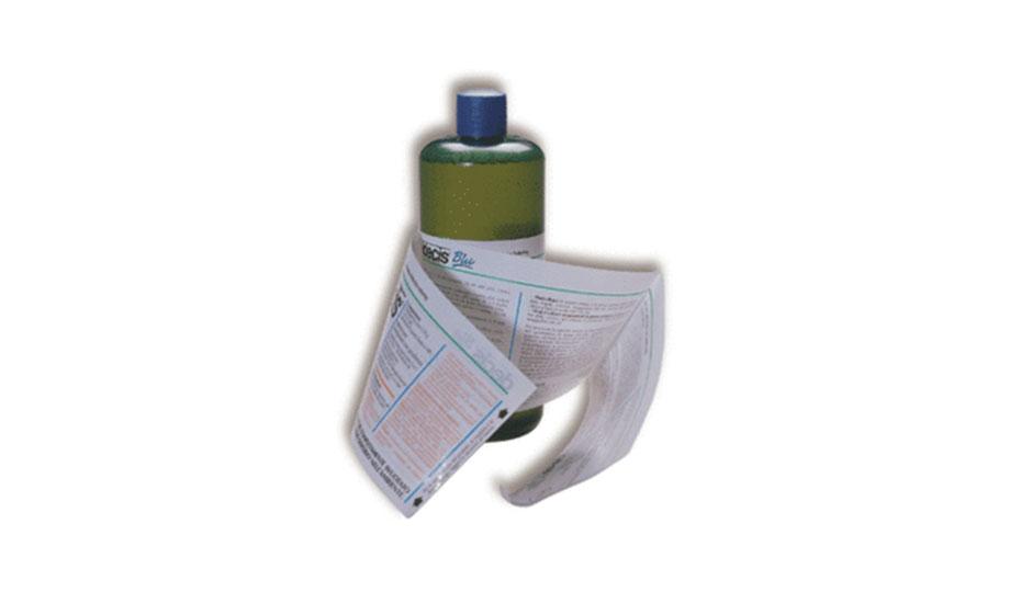 Mehrlagen-Etiketten - minimaler Verpackungsaufwand bei maximalen Raum für umfangreiche Informationen