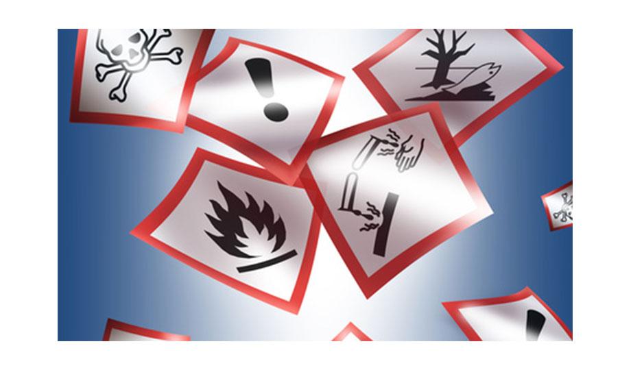Die Farbetikettendrucker eignen sich ideal für die anforderungsgerechte Erstellung von Etiketten, die GHS-Standards einhalten